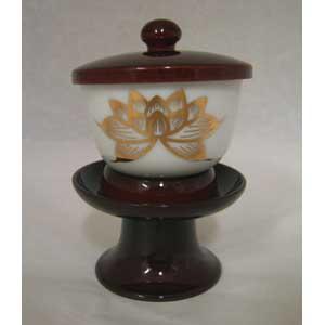 茶台と湯呑のセット